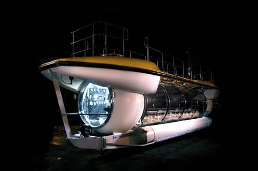 Tàu lặn thám hiểm Triton Deepview 24 sẽ mang lại trải nghiệm chưa từng có cho du khách đến với Vinpearl.